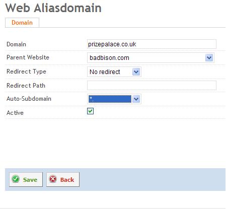 Alias Web Domains | ISPConfig 3 Documentation